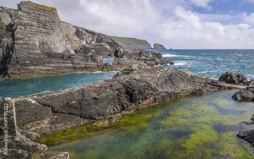 Felsenlandschaft am Mizen, West Cork, County Cork