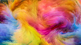 Colorful Paint Visualization - 191797459