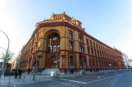 Fotobehang Berlijn historic postfuhramt building berlin germany