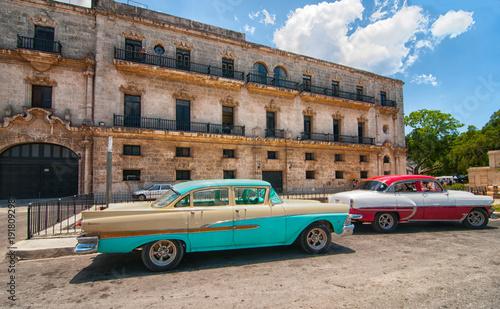 Papiers peints La Havane Classic Cars in Havana