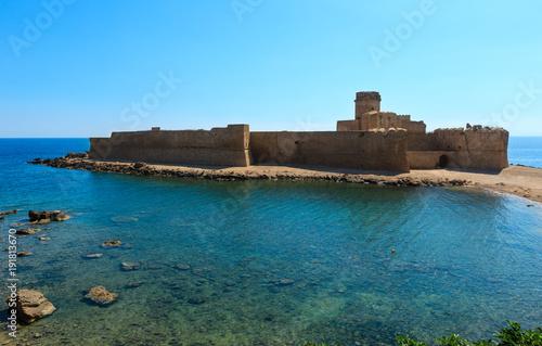 Aragonese castle of Le Castella, Calabria, Italy
