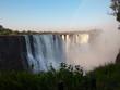 Victoria Falls, Zimbabwe-August 17, 2016: View of Victoria Falls - 191818682