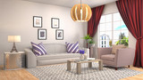Interior living room...