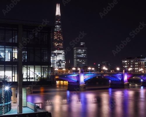 Keuken foto achterwand London Southwark Bridge