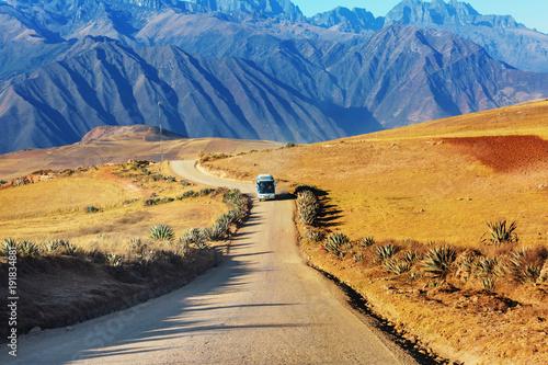 Fotobehang Galyna A. Peruvian pampa