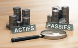 Bilan actifs passifs. Comptabilité d'entreprise - 191841836