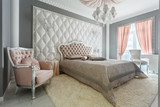 Fototapety Interior of a classic style bedroom in luxury house