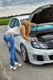 Car & Girl 1