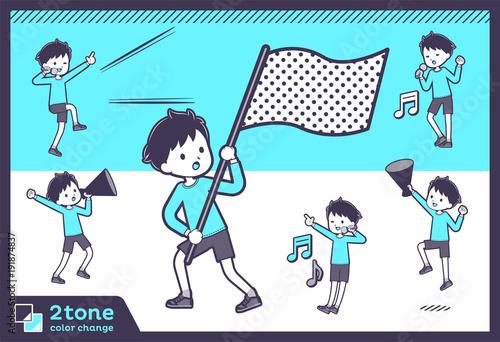2tone type blue clothing boy_set 07