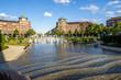 canvas print picture - Mannheim, Wasserturm