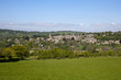 England, Gloucestershire, Painswick in the scenic Cotswold countryside in spring sunshine