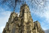 York Minster in early spring sunshine, City of York, UK - 191887456