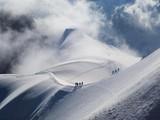 Aiguille du Midi - szczyt w Alpach w masywie Mont Blanc