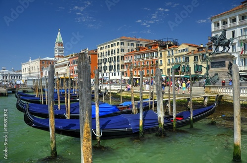Foto op Plexiglas Venetie Embarcadero en Venecia