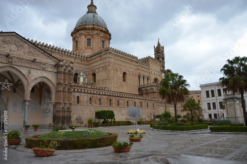 Fotobehang Palermo The Cathedral of Palermo