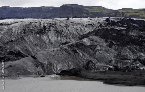 Fotobehang Grijs Iceland