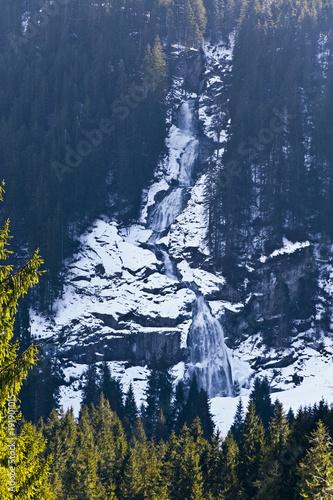 Krimmler Wasserfälle im Winter  - 191901015