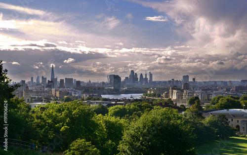 Keuken foto achterwand London London, Skyline, UK, United Kingdom, Metropolis, Panorama