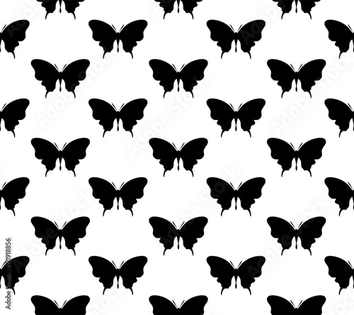 Different geometric patterns were created from the butterfly symbol.