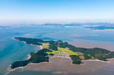 Luftaufnahme der Insel Jangbongdo vor Seoul / Incheon  (Südkorea) - 191926211