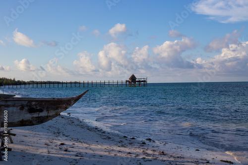 Staande foto Zanzibar Zanzibar dock