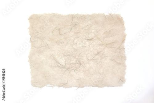 Japoński papierowy biały tło