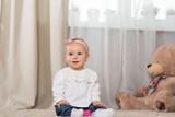 Baby eight months - 191956616