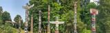 Totem Poles in Stanley Park, Vancouver - Canada. - 191960216