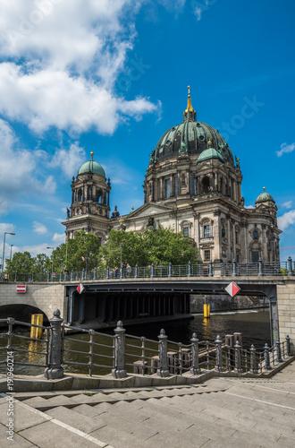 Fotobehang Berlijn Berlin Cathedral or Berliner Dom, Germany
