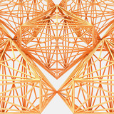 Wooden Cage Abstract Construction Structure  - 191962875