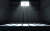 Sunshine Shining In Prison Cell Window - 191969493