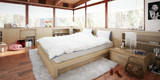 Schlafzimmer im Patio (panoramic) - 191972604