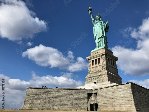 Papiers peints Bleu nuit アメリカ ニューヨーク 自由の女神