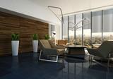 Elegant designer living room interior - 191981442