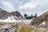 Nordkette mountain and ski area in Innsbruck, Austria. - 191986461