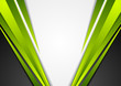 Grey, green and black tech corporate background