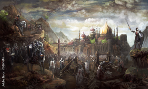 Siege of Jerusalem © vukkostic