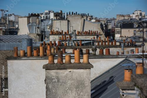 cheminées de Paris