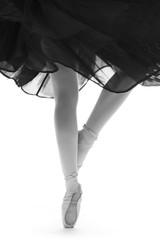 pointes danseuse classique