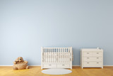 Nursery room with crib and toys - 192020056