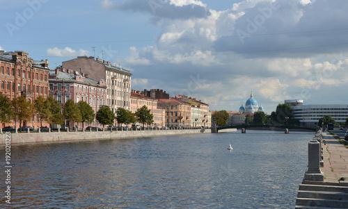 Foto Murales Fontanka River Embankment.
