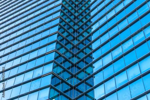 Plexiglas Peking close-up of modern office building