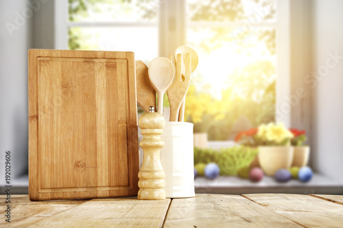 easter and table  - 192029606