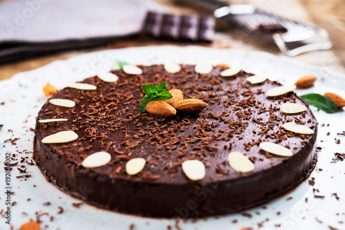 Healty LCHF chocolate cake