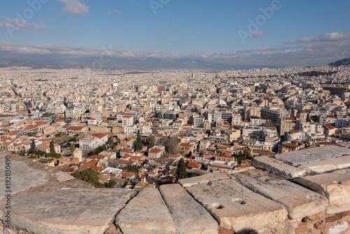 Foto op Aluminium Athene Vista panoramica di Atene