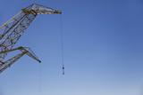 Crane against blue sky - 192033473