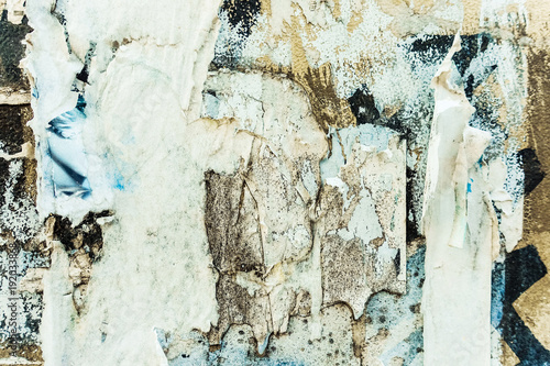 Fotobehang Abstractie old shabby paper textures perfect background with space for text or image