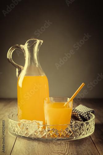 Jug & Tumbler Of Juice