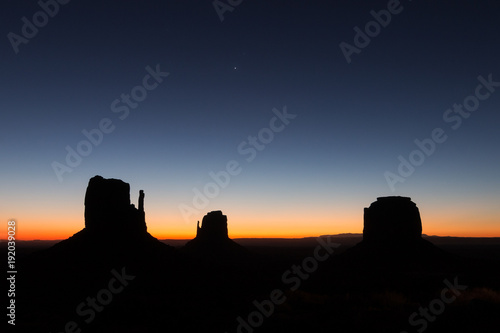 Keuken foto achterwand Arizona monument valley