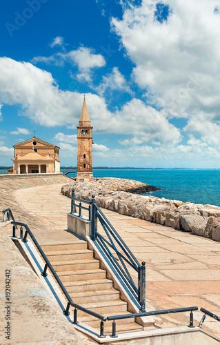 Foto op Canvas Venetie Caorle Italy Venezia seafront provincial town near Adriatic sea